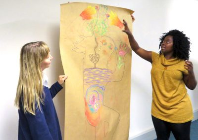 Body Mapping -Study Abroad at University of Cape Town