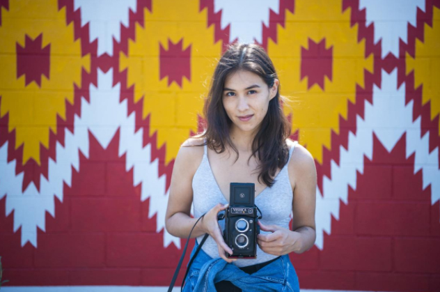A UNM Film and Digital Arts graduate, Shaandiin Tome, featured in New Mexico Magazine