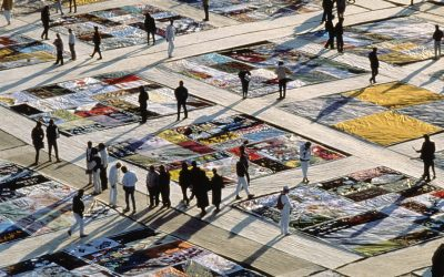 Fine Arts Proudly Hosts AIDS Memorial Quilt Panels for World AIDS Day